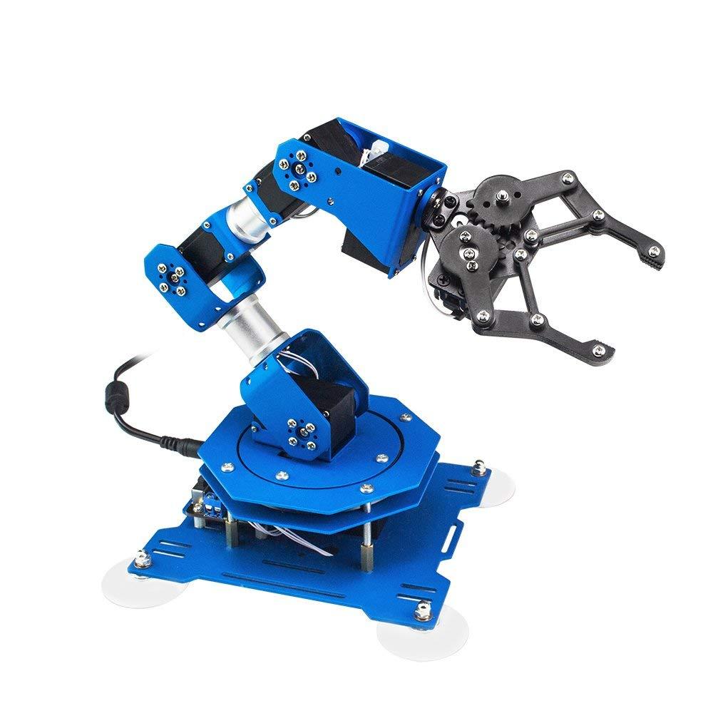 LoBot xArm 6DOF All Metal Programmable Robotic Arm