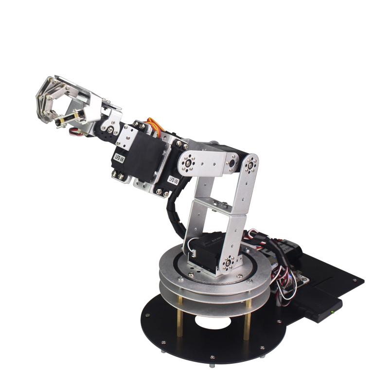LOBOT 6 DOF 5 Fingers RC Arduino Metal Robotic Arm