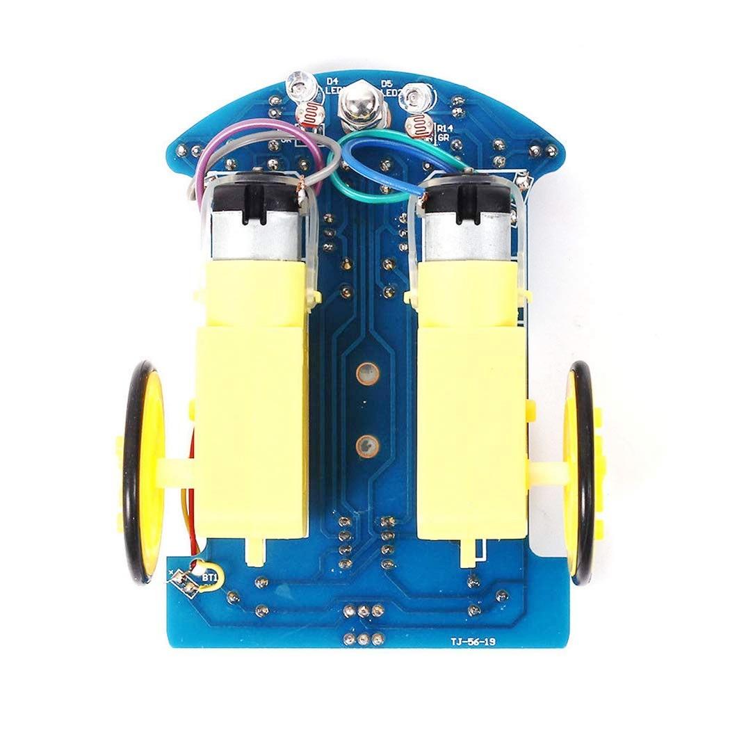 D2-1 Smart Car TT Motor Smart Patrol Automobile Parts DIY Kit
